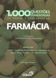 FARMACIA: 1000 QUESTOES COMENTADAS